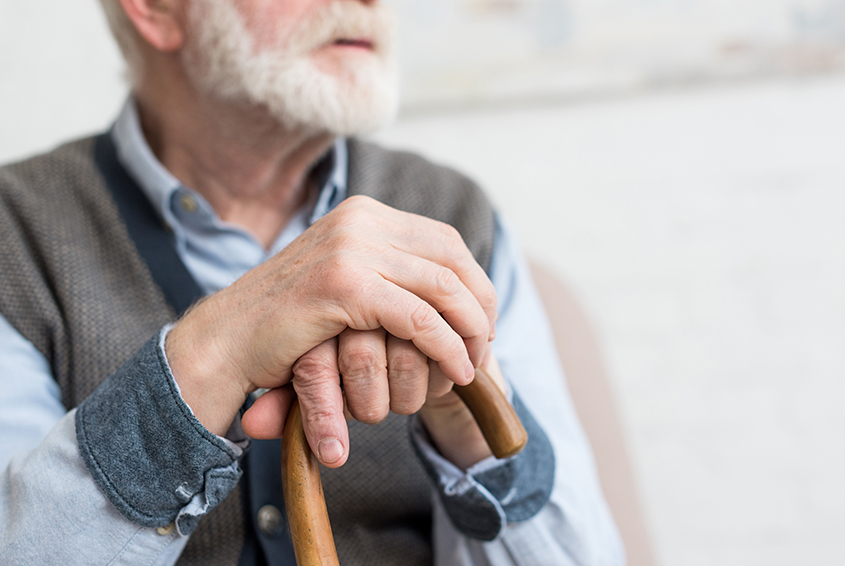 Too embarrassed to use a cane?
